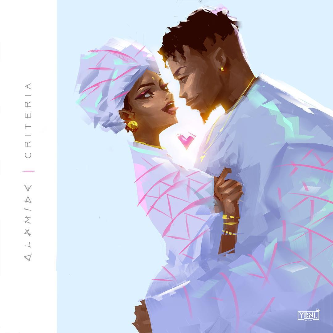 Olamide gets romantic with